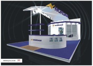 NORDHAM BOOTH FRONT RIGHT VIEW